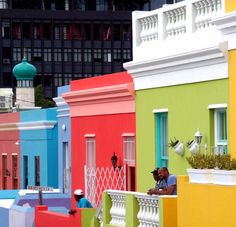 On the fence about whether to Visit Cape Town on your next holiday? Check out these 12 great reasons to visit the Mother City in Colourful Buildings, Beautiful Buildings, South Africa Art, Places To Volunteer, Europe Travel Guide, World Of Color, Cape Town, Windows And Doors, Samsung Camera