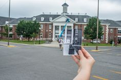 The Angelo & Jennette Volpe Library, then and now.