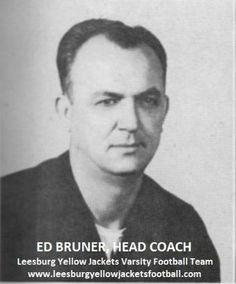Ed Bruner 1946 Leesburg Yellow Jackets Varsity Football
