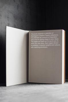 arjowiggins creative paper collection book photography by dario ruggiero | S/TUDIO