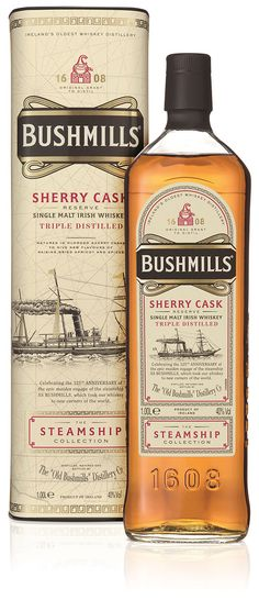Bushmills Irish Whiskey launch: first ever travel retail exclusive