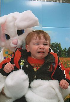 This is the ultimate collection of creepy Easter Bunny pictures. Its a furry fest!