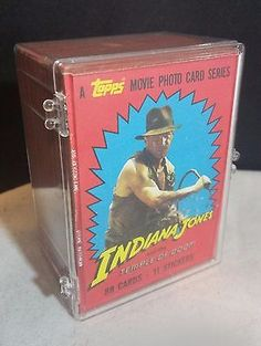 Vintage 1984 Topps Indiana Jones and the Temple of Doom Card Set #1 - 88