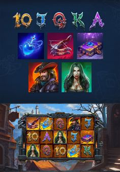 1x2Gaming | Slots on Behance Witch School, Casual Art, Game Gui, Game Design, Adobe Photoshop, Adobe Illustrator, Slot, Behance, Graphic Design