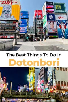 We know that coronavirus has people a little worried right now, but if you're still planning to visit Osaka, you have to check out Dotonbori. It's one of the most iconic, lively areas in Japan. The Anxious Travelers share seven tips for making the most of your visit! #traveljapan #japan2020 #dotonbori #osaka
