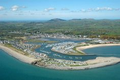 Pwllheli from the air Aberystwyth, Snowdonia, Cymru, North Wales, Places Of Interest, United Kingdom, The Past, Scenery, River