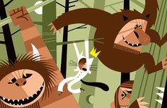 """Lobato's take on """"Where the Wild Things Are."""" Beautiful."""