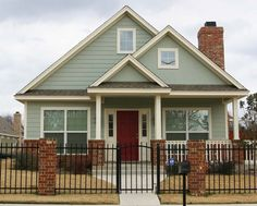 exterior house colors - Magnolia Villas - Magnolia Homes HGTV - show Fixer Upper Chip & Joanna Gaines