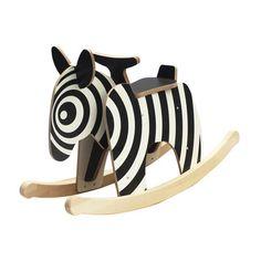 Rocking Zebra Horse