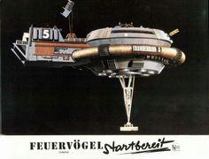 German lobby card set for 'Thunderbirds Are Go!'