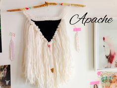 Etsy の Weaving wall hanging Apache. by GypsyMamaStore