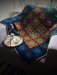 Crochet Afghans Design Medina Mosaic tiles crochet pattern - The Medina Mosaic tiles are inspired on Granny Square Crochet Pattern, Crochet Squares, Crochet Granny, Crochet Motif, Ravelry Crochet, Free Crochet, Ravelry Free, Simple Crochet, Chrochet