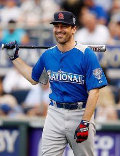 Jon Hamm. Baseball pants. YES please.