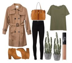 """""""Untitled #4947"""" by prettyorchid22 ❤ liked on Polyvore featuring Laurence Dacade, Frame Denim, rag & bone/JEAN, MCM and NARS Cosmetics"""