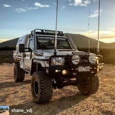 Boost your Camping Experience With These kinds of Tips Toyota Lc, Toyota Trucks, Toyota Hilux, Ford Trucks, Landcruiser Ute, Landcruiser 79 Series, Patrol Y61, Nissan Patrol, Daihatsu