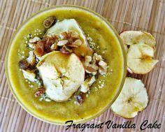 Golden Apple Smoothie Bowl | Fragrant Vanilla Cake