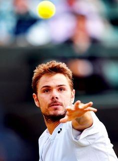 2014 Wimbledon Championships Second Round; Stan Wawrinka def. Yen-Hsun Lu 7-6(6), 6-3, 3-6, 7-5