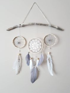 Excited to share the latest addition to my shop: Feather Dream Catcher Wall Hanging-Grey White Dream Catcher-Gray Nursery Decor-Baby Room Wall Decor-Gender Neutral Nursery Decor-Boho Decor - Decoration Baby Room Wall Decor, Baby Room Diy, Baby Decor, Nursery Room, Grey Wall Decor, Diy Nursery Decor, Bedroom Decor, Bedroom Kids, Baby Rooms