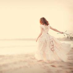 Girls Dress Fairy Tale Ruffles by vintageprecious  Ruffled Dresses #2dayslook #RuffledDresses #lily25789  www.2dayslook.com