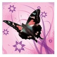 Butterflys in Pink Customizable Banner n by digitalexpressions, $4.50