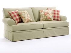 Home Gallery Furniture for Broyhill Sofas, Emily Queen Goodnight Sleeper Sofa