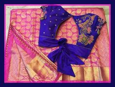 If you are looking for new & latest saree blouse design ideas for your party, fancy, silk or any other sarees, you've come to the right place. Blouse Back Neck Designs, Choli Designs, Fancy Blouse Designs, Wedding Saree Blouse Designs, Silk Saree Blouse Designs, Saree Blouse Patterns, Wedding Sarees, Stylish Blouse Design, Designer Blouse Patterns