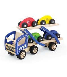 Car Transporter From Pintoy from The Wooden Toybox
