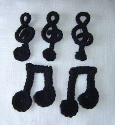 Amigurumi Doughnut Pattern : 1000+ images about Musical notes on Pinterest Music ...
