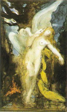 oeuvres , Moreau gustave, Munch, symbolisme, peintre, Gauguin, Baudelaire, Emile Bernard, artistes bios