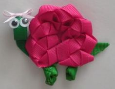 Hair bow instruction   turtle hair bow instructions by the crafty charlestonian