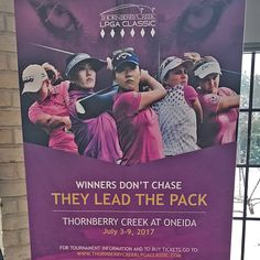 Something HUGE is coming to the Oneida Reservation! The inaugural Thornberry Creek LPGA Classic will be held in Oneida, WI, July 3-9, 2017. One of 33 LPGA tournaments held throughout the world, the Thornberry Creek LPGA Classic will attract 144 of the world's best golfers to compete at the Official Golf Course of the Green Bay Packers. Thornberry Creek LPGA Classic banners are being placed throughout the reservation to help spread the word and get the community excited! #ThornberryLPGA