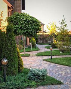 Landscape Sketch, Landscape Plans, Landscape Design, Garden Design, Small Gardens, Outdoor Gardens, Garden Makeover, Pathways, Backyard Landscaping