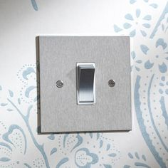 Stainless Steel Rocker Switch - Forbes and Lomax