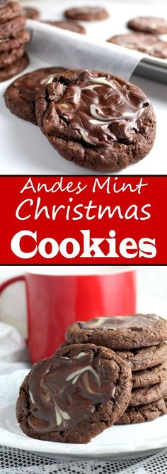 christmas cookie mint Andes Mint Christmas Cookies, Soft Baked Chocolate - Very Best of Christmas Andes Mint Christmas Cookies, Soft Baked Chocolate - Very Best of Christmas Köstliche Desserts, Holiday Baking, Christmas Desserts, Christmas Baking, Christmas Treats, Christmas Recipes, Holiday Foods, Christmas Goodies, Christmas Candy