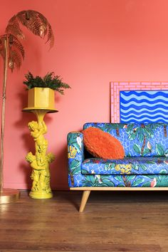 If you haven't yet heard of set/interior designer Amy Exton and her Margate Location House, prepare to drink the Kool-Aid. Her signature 'acid-aesthetic' can be seen splashed across every room, transforming the space into a Club Tropicana dream…