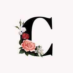 Monogram Wallpaper, Alphabet Wallpaper, Name Wallpaper, Cute Wallpaper Backgrounds, Stylish Alphabets, Beautiful Flowers Wallpapers, Alphabet Design, Floral Letters, Letter Art