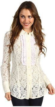 White Cotton Blouse Shopstyle 28