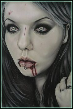 Vampire by *PoupeedeChair on deviantART