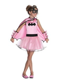This DC Comics Batgirl Tutu Child's Halloween Costume is ideal for letting your child show their heroic nature at Halloween events. Vibrant pink costume includes Batgirl tutu dress, belt, gauntlets, and mask for a complete look. Girl Unicorn Costume, Pink Costume, Costume Dress, Belle Costume, Batgirl Halloween Costume, Halloween Costumes For Girls, Batman Costumes, Fancy Costumes, Girl Costumes