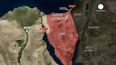 Al menos 74 muertos en varios ataques yihadistas en el Sinaí egipcio