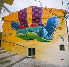 Street Art by Penelope Lape, Spain