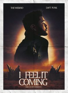 The Weeknd - I Feel It Coming (feat. Daft Punk) Poster - Sunset Version