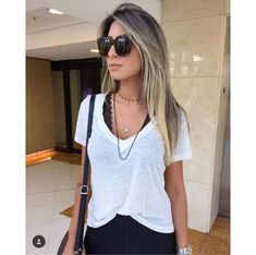 Best how to wear shirt summer Ideas Casual Chic Summer, Casual Chic Style, Casual Street Style, Cute Fall Outfits, Chic Outfits, Fashion Outfits, Spring Outfits, Daily Fashion, Trendy Fashion