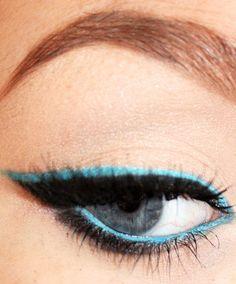 Get Sketch-y, Whoa! Two Eyeliner Tricks That Make a Cat Eye Look Tame