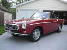 Volvo P1800S 1965 Red (46) #13845