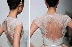 photo of 2013 Wedding Dresses with Stunning Statement Backs