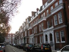 Typical Chelsea architecture