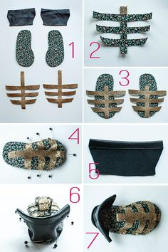 My golden baby sandals made the top 10- come vote for your favourite project! I hope it's mine ;) ♥