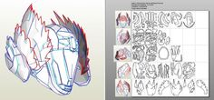 34 Awesome destiny helmet pepakura images