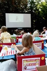 Image result for drive in movie party